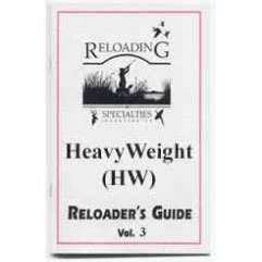 HeavyWeight (HW) Shot Reloader's Guide, Vol. 3